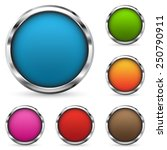 set of buttons | Shutterstock .eps vector #250790911