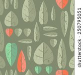 natural and trendy seamless... | Shutterstock .eps vector #250795051