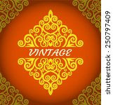 vintage background | Shutterstock .eps vector #250797409