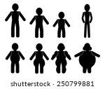 weight stages | Shutterstock .eps vector #250799881