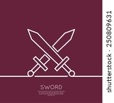 Постер, плакат: Crossed Swords The concept