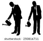 Illustration Of Businessmen...