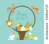 Easter Holiday Greeting Card...