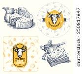 Cheese Set   Logo Element ...