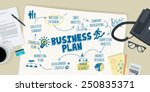 flat design illustration... | Shutterstock .eps vector #250835371