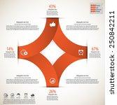 modern minimal infographics... | Shutterstock .eps vector #250842211