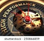 high performance on black... | Shutterstock . vector #250866859