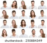 set of different male and... | Shutterstock . vector #250884349