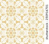 background vintage flower.... | Shutterstock .eps vector #250916701