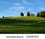 scenic view of a grassy hill... | Shutterstock . vector #2509292