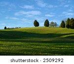 scenic view of a grassy hill...   Shutterstock . vector #2509292