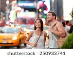 usa travel   times square... | Shutterstock . vector #250933741