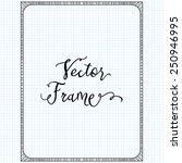 Vector Doodle Frame Hand Drawn...