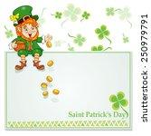 St. Patrick's Day. Leprechaun...