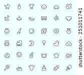 Baby Icons  Simple And Thin...