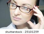 women in glasses | Shutterstock . vector #25101259