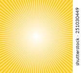 yellow sun ray | Shutterstock .eps vector #251030449