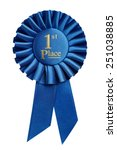 First Place Award  Rosette...