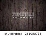 vector wood texture. background ... | Shutterstock .eps vector #251050795
