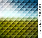 abstract geometric background.... | Shutterstock .eps vector #251055121