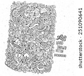 Doodles Abstract Decorative...
