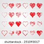 mega collection of vector...   Shutterstock .eps vector #251093017
