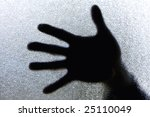 diffuse image of a hand against ... | Shutterstock . vector #25110049