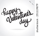 happy valentine's day original... | Shutterstock .eps vector #251119879