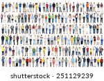 people diversity success... | Shutterstock . vector #251129239