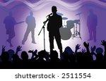rock concert | Shutterstock . vector #2511554