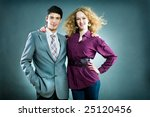 team young business people | Shutterstock . vector #25120456
