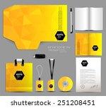 stationery design identity... | Shutterstock .eps vector #251208451
