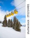 winter in the swiss alps ... | Shutterstock . vector #251214481