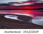 a horizontal image of sunrise... | Shutterstock . vector #251222029