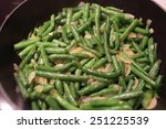 Cooking Green Beans With Onion...