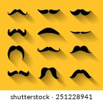 collection of various type of... | Shutterstock . vector #251228941