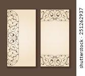 set of vintage labels or... | Shutterstock . vector #251262937