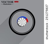 metal volume control  red  blue ...