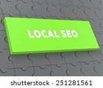 local seo | Shutterstock . vector #251281561