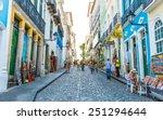 bahia  brazil   circa nov 2014  ... | Shutterstock . vector #251294644