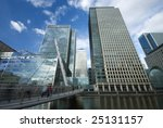 Docklands, London - stock photo