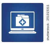 medical record | Shutterstock .eps vector #251315311