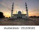mosque of sultan salahuddin... | Shutterstock . vector #251328181