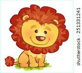 lion | Shutterstock .eps vector #251331241