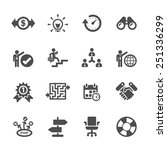 business icon set  vector eps10.