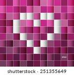 seamless 3d pattern background...   Shutterstock .eps vector #251355649