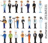 cartoon vector characters of... | Shutterstock .eps vector #251365231