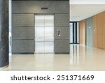 view of empty hall of business... | Shutterstock . vector #251371669