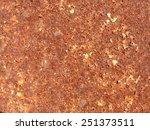 grunge rusty metal texture   Shutterstock . vector #251373511