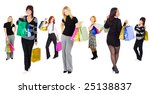 shopping is fun  | Shutterstock . vector #25138837